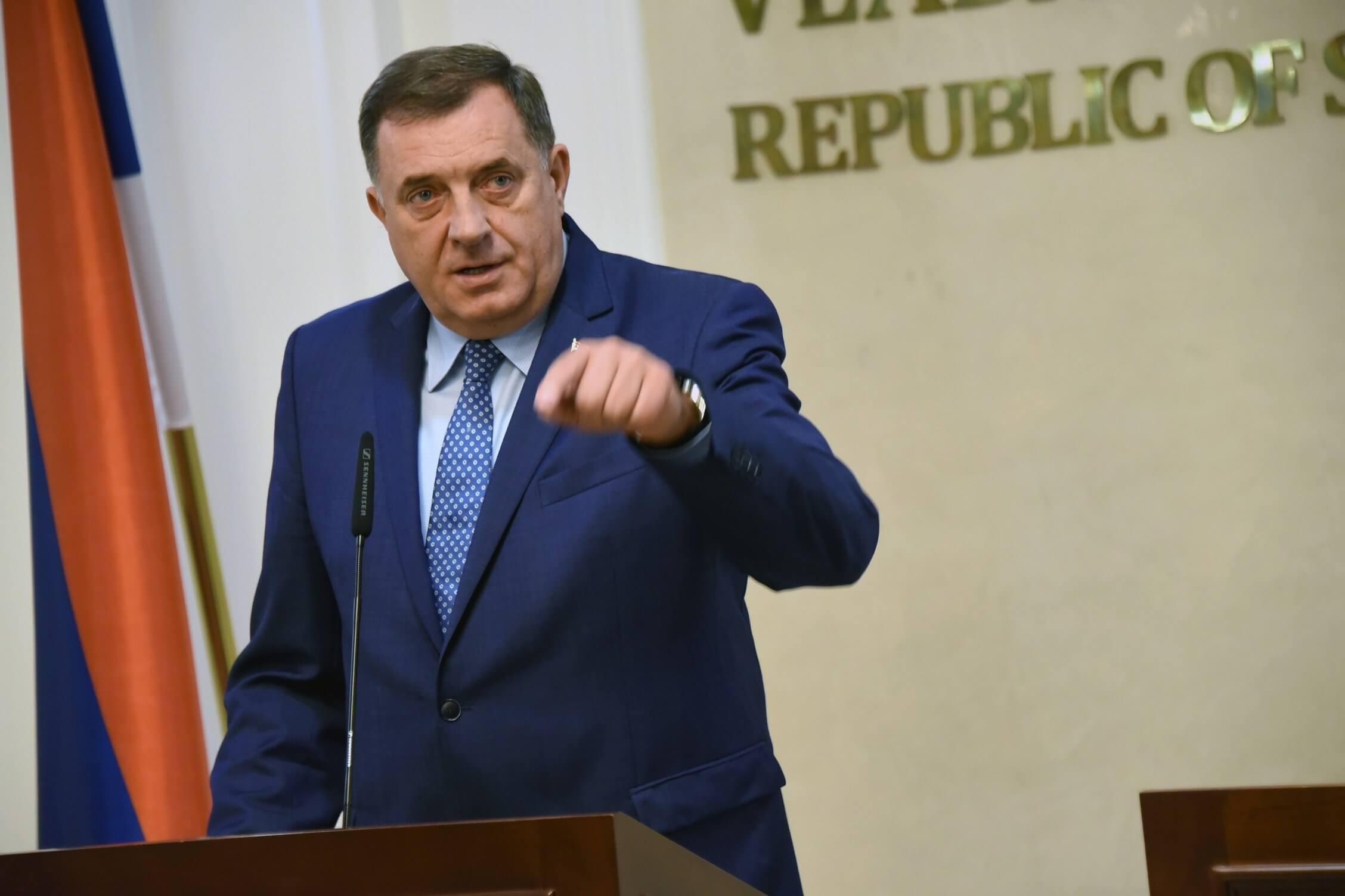 Dodik: Ne smije biti uveden princip da Sarajevo naređuje šta da se radi