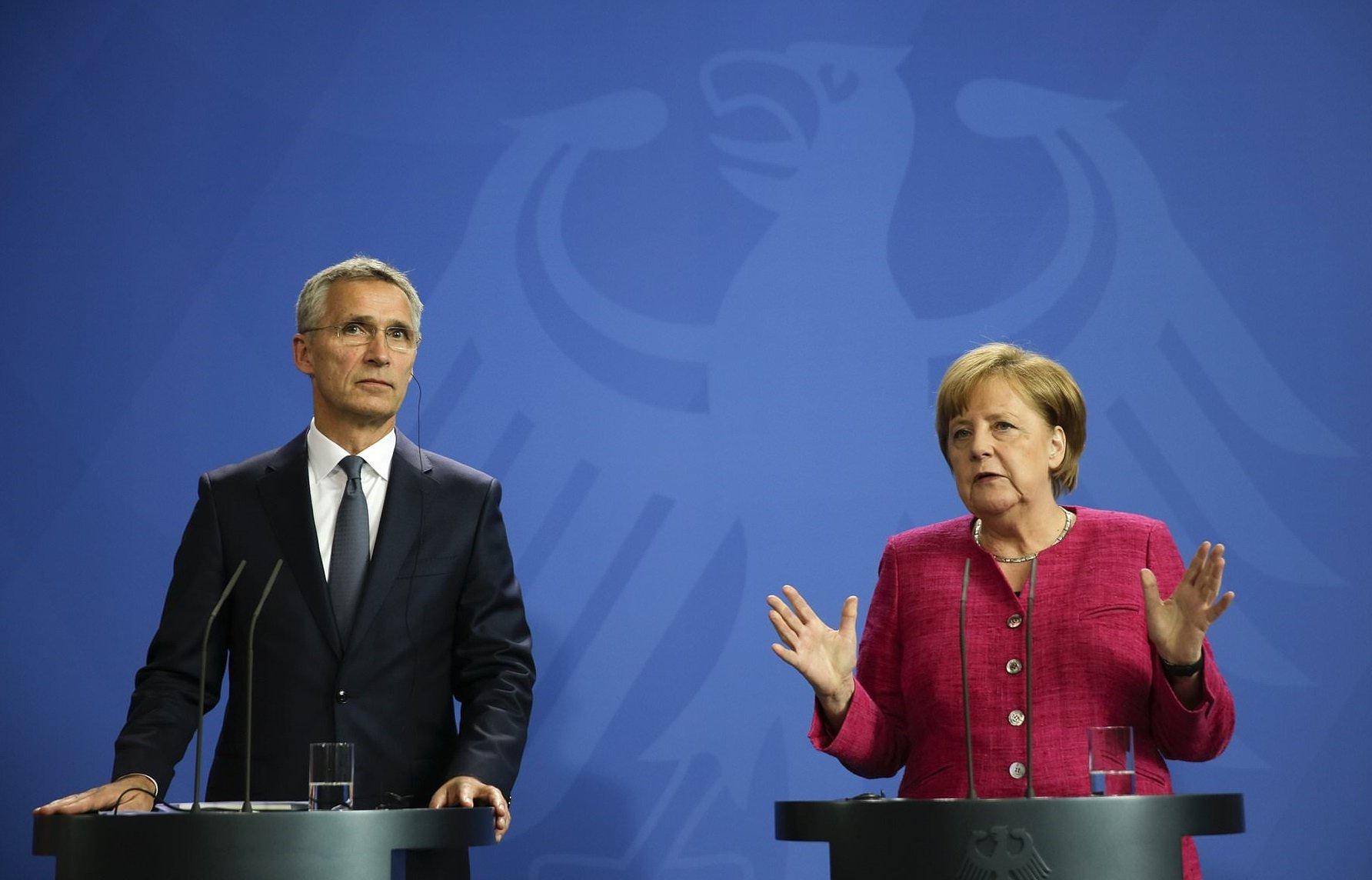 Merkel i Stoltenberg nisu saglasni sa Makronom
